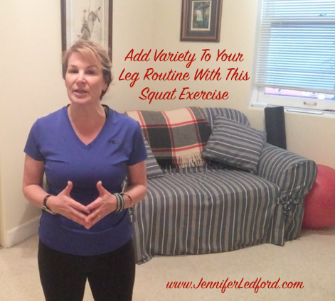 Add Variety To Your Leg Routine With This Squat Exercise by Jennifer Ledford