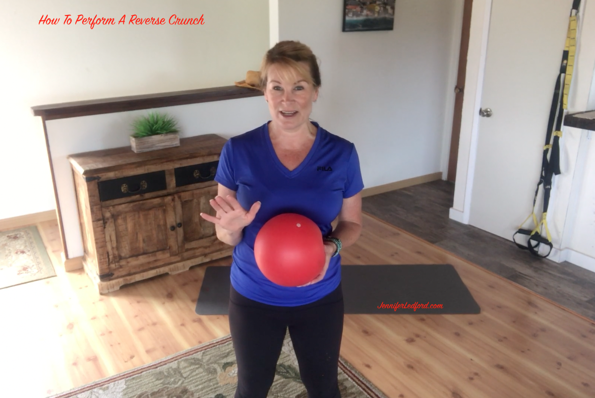 Power up your abs with this exercise - How To Perform A Reverse Crunch by Jennifer Ledford